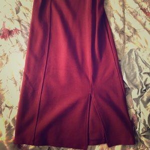 Forever 21 brand new wine dress